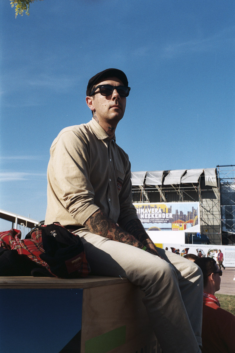 people at primavera sound festival 2019 in barcelona